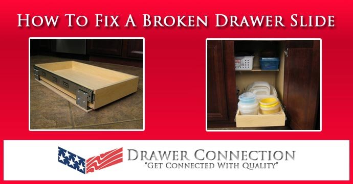 how to fix drawer slides drawer repair guide drawer connection. Black Bedroom Furniture Sets. Home Design Ideas