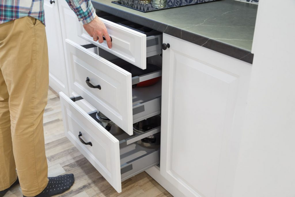 Installing Sliding Drawers